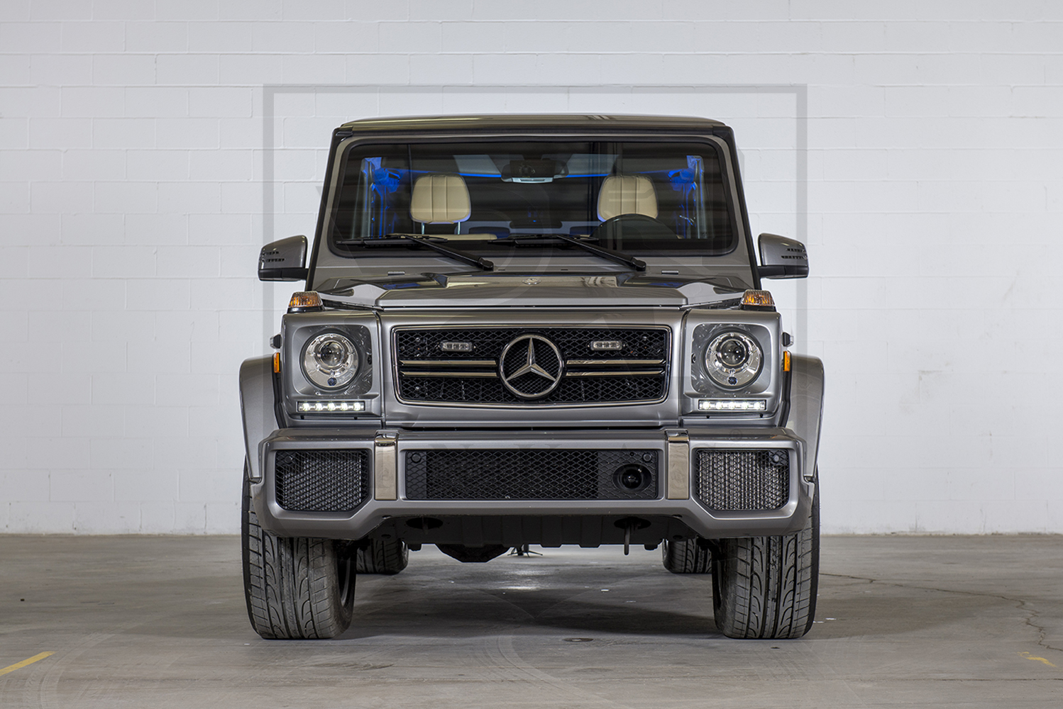 Armored suv based on mercedes benz g63 for Mercedes benz armored