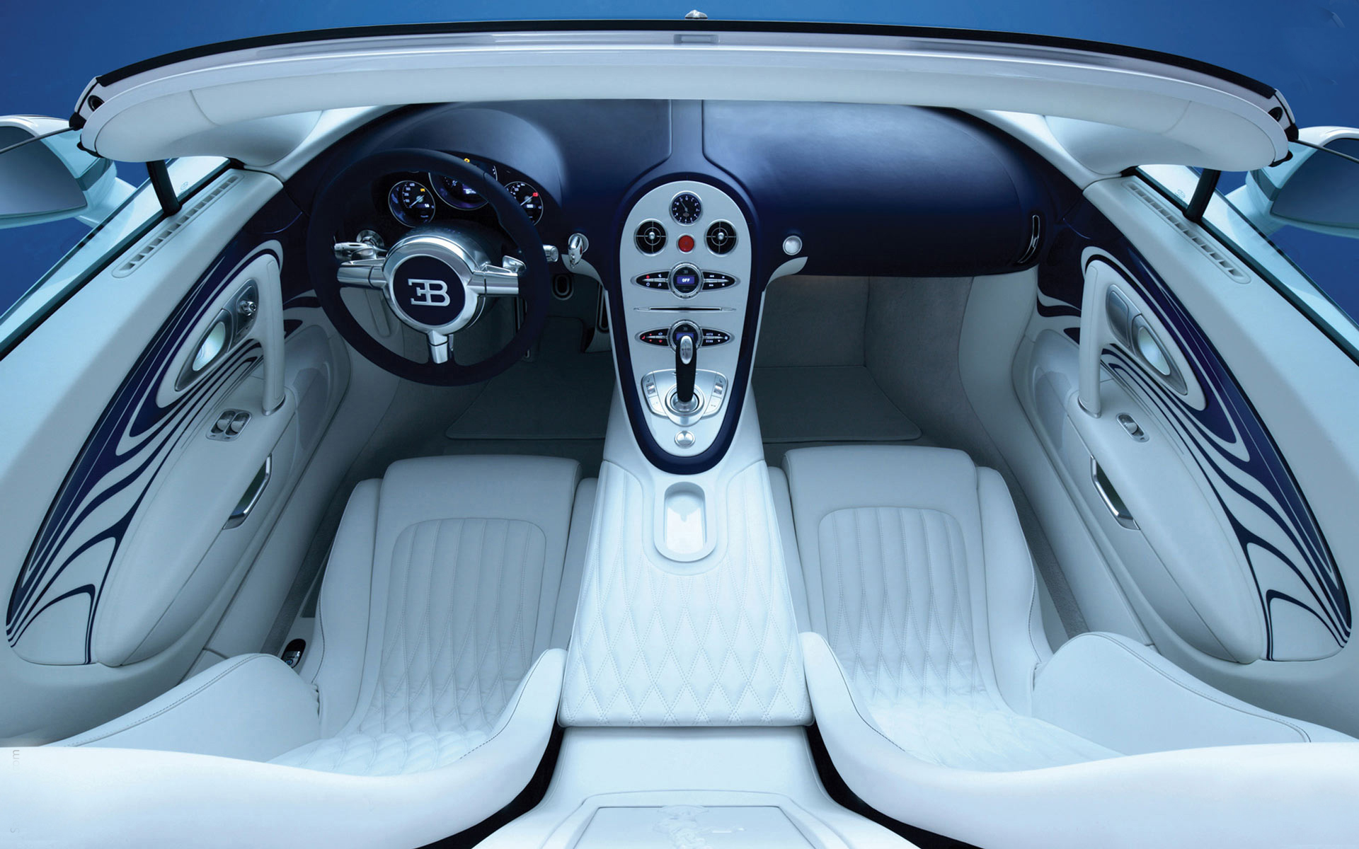 Bugatti-Veyron-Grand-Sport-Vitesse-Interior-Photo Extraordinary Bugatti Veyron Grand Sport Vitesse Cars Trend