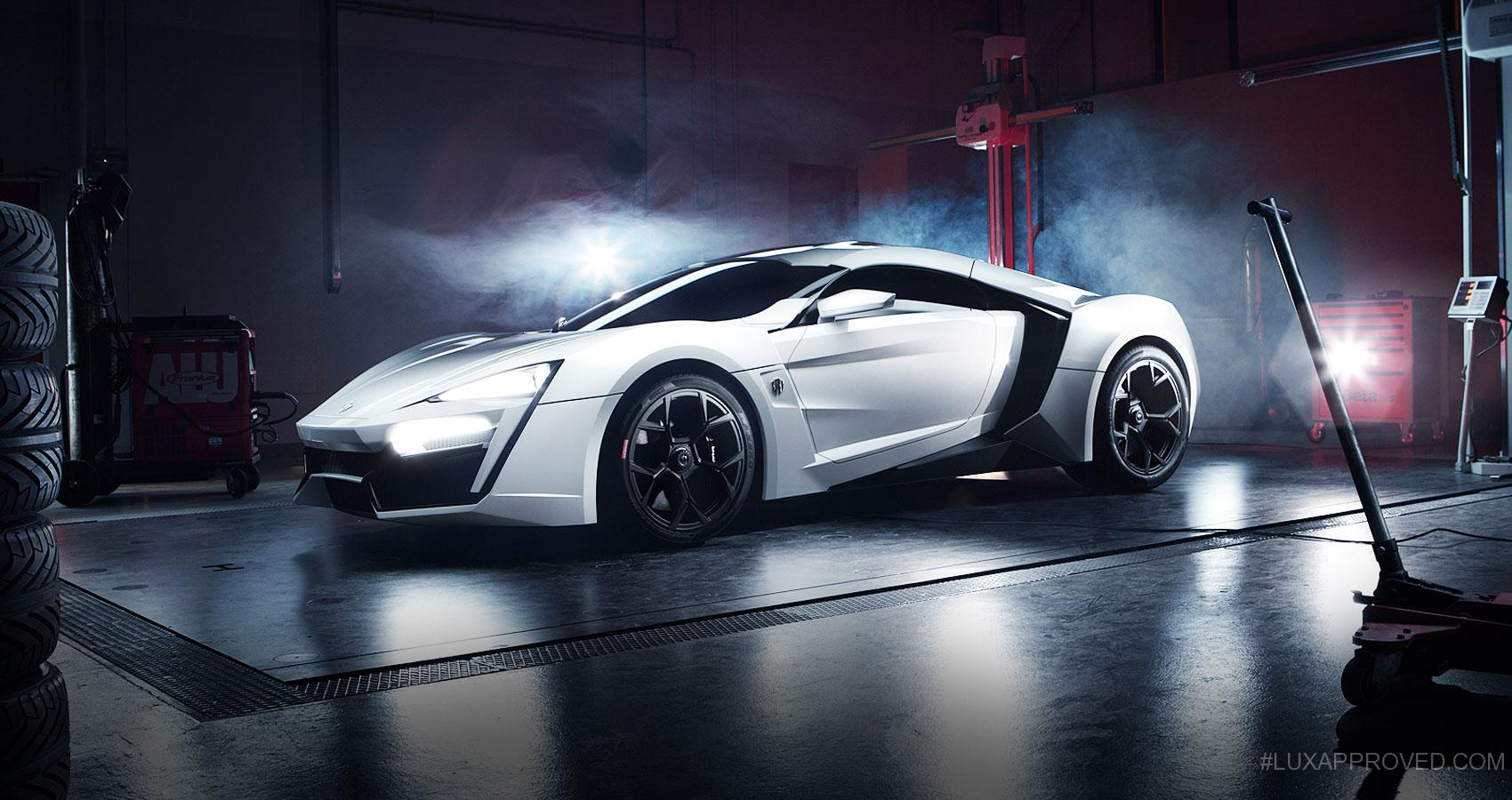 how to draw a lycan hypersport