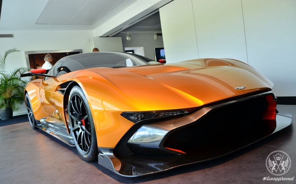 $2.8 million Bright Orange Aston Martin Vulcan