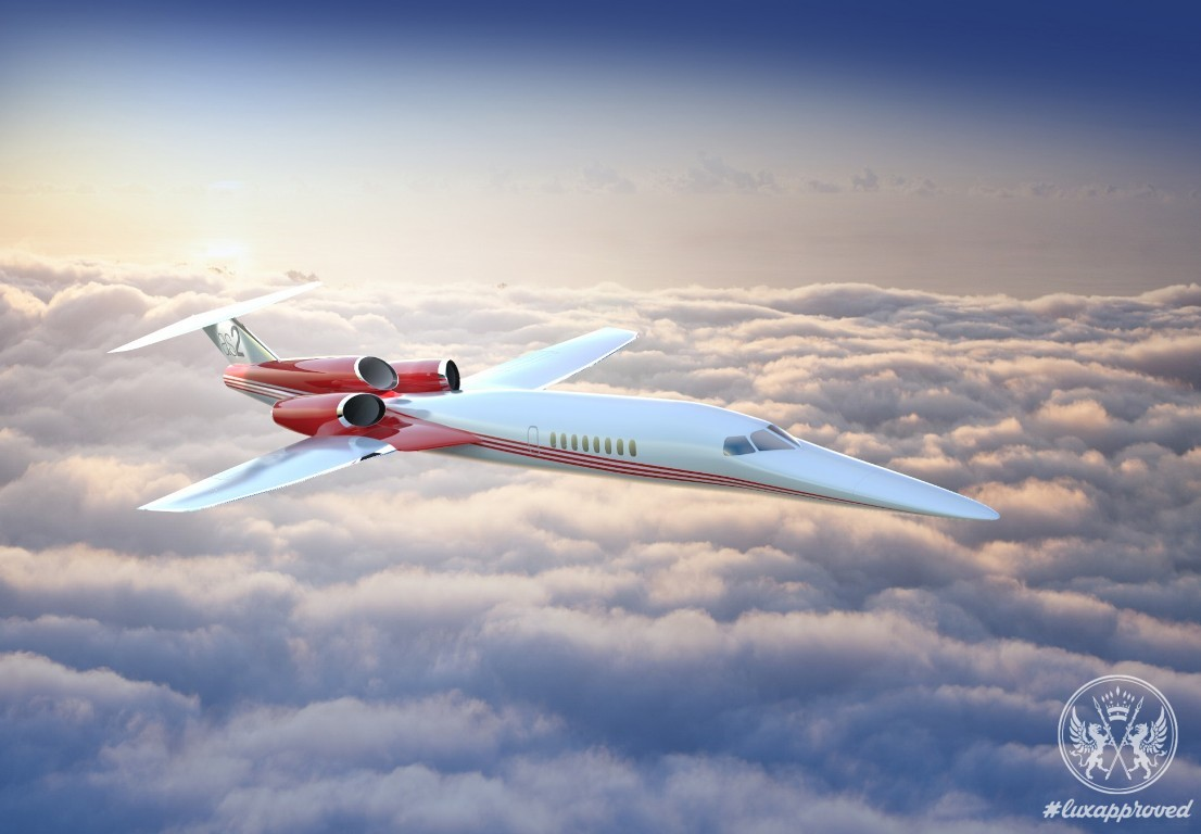 The Aerion AS2 Supersonic Business Jet Will Drastically Cut Flight Time