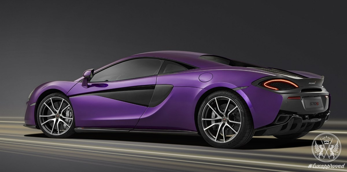 McLaren Special Ops Presents Mauvine Blue 570S Supercar