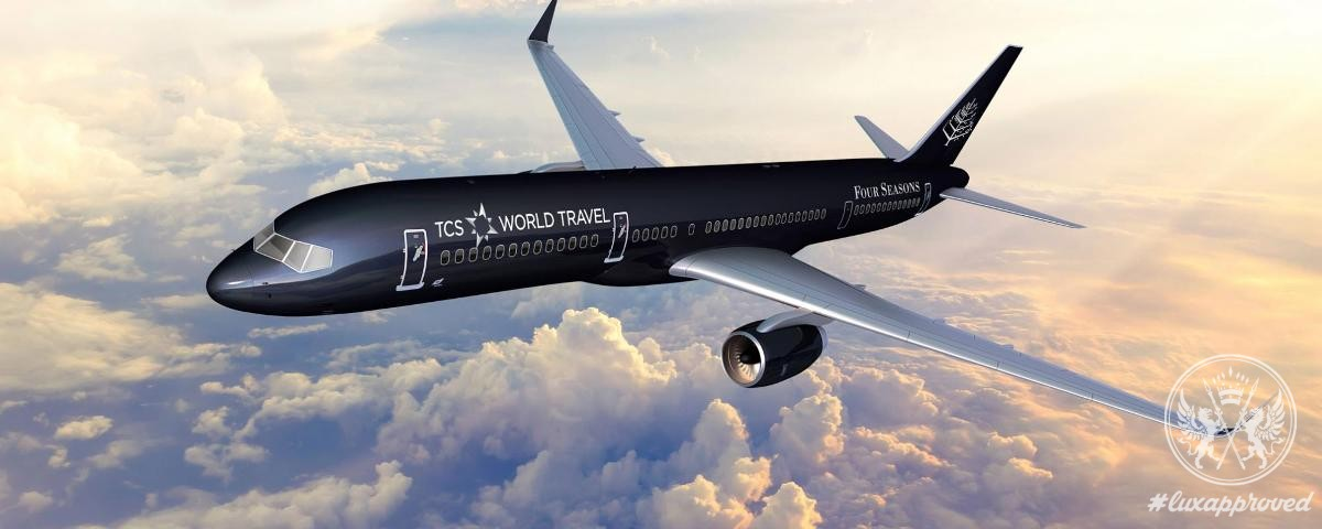 """The Select Escapes """"Around the World by Private Jet"""" Offered by TCS & Four Seasons"""