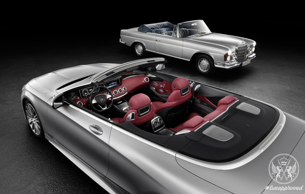 Mercedes-Benz S-Class Convertible Teased