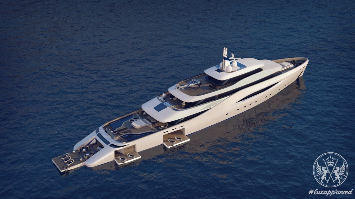 Pininfarina Design Mega Yacht Ottantacinque Embraces The