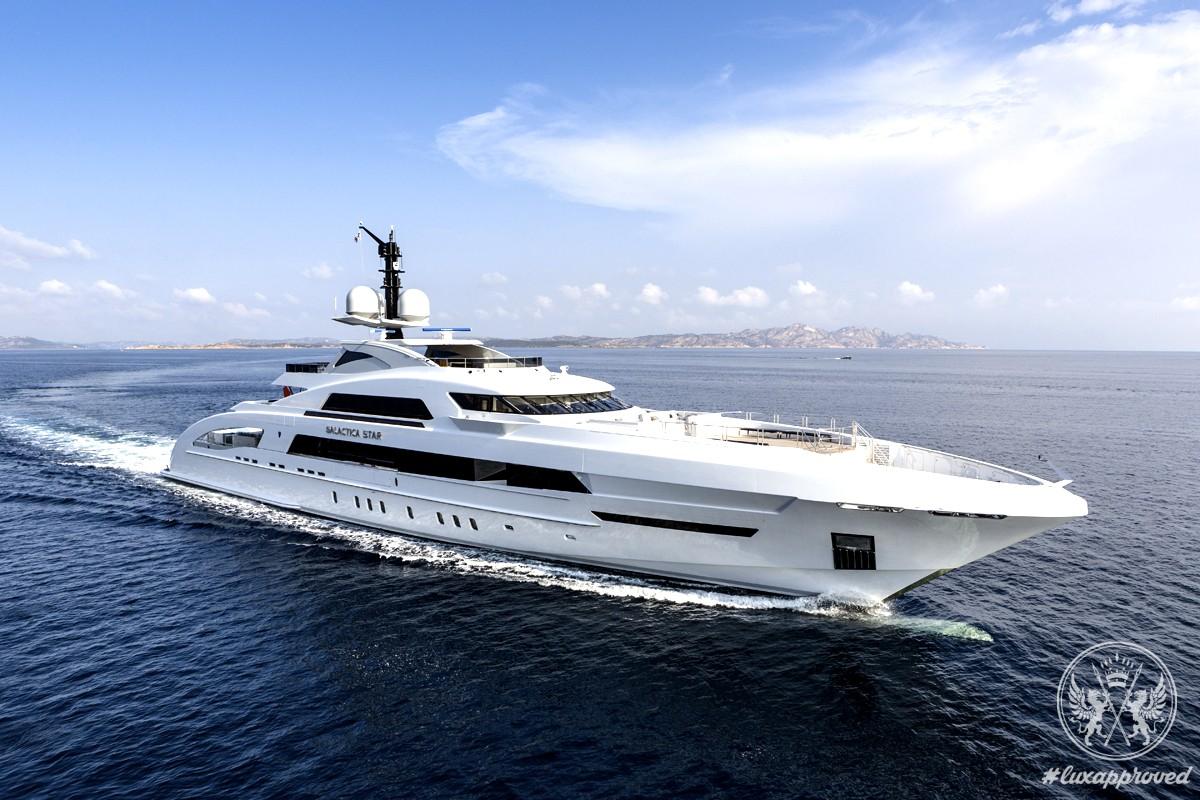 Jay-Z & Beyoncé Enjoy YachtLife On Board Galactica Star