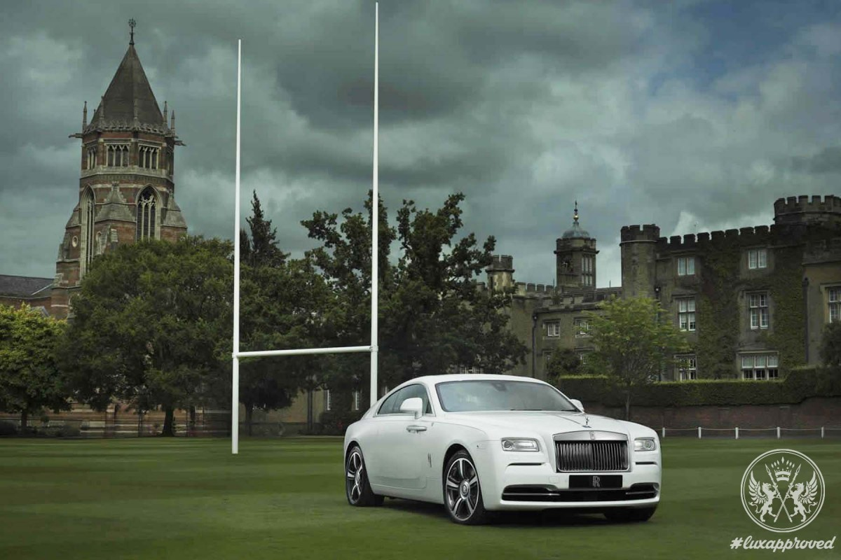 "Rolls-Royce ""Wraith - History of Rugby"""