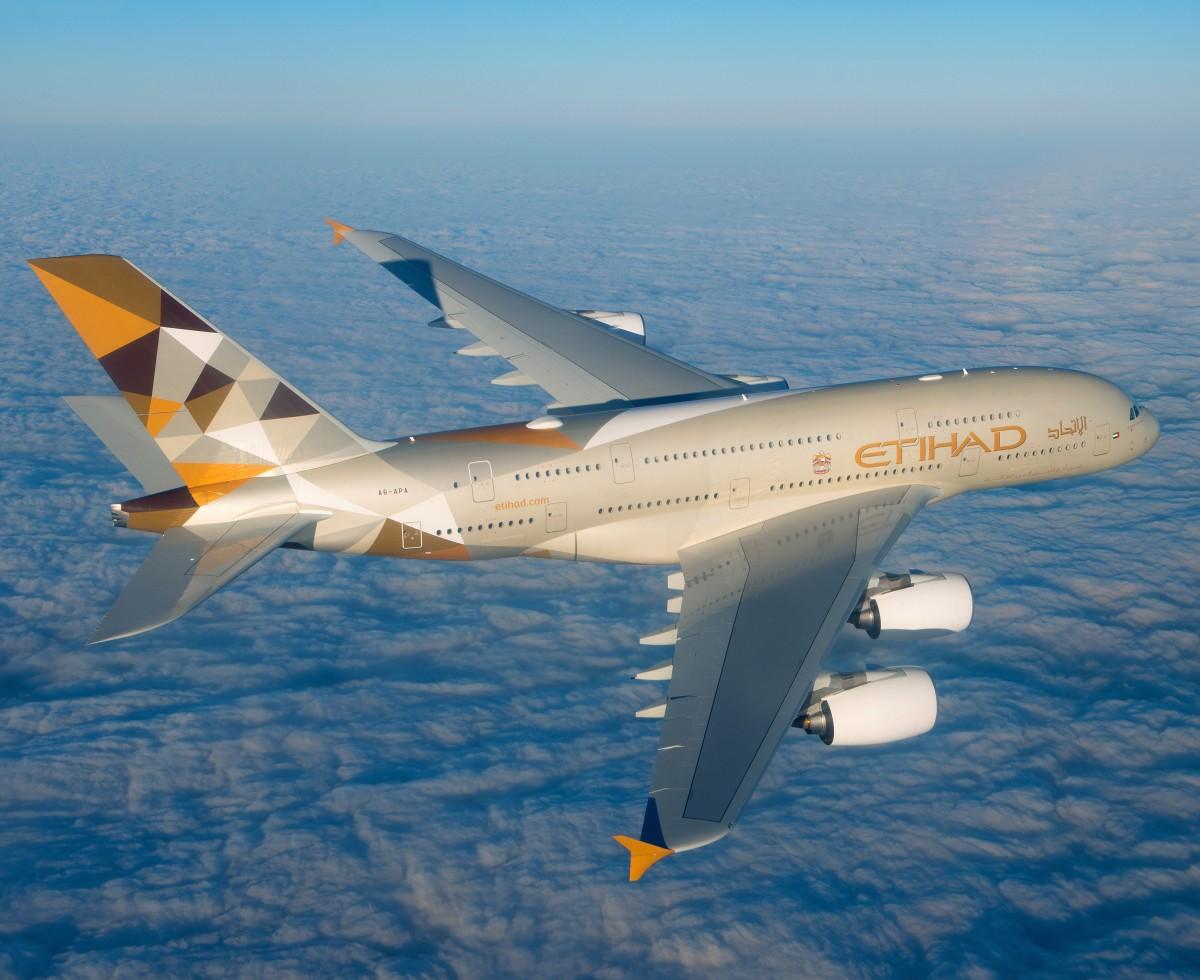 Etihad Airways and Chapman Freeborn A380 Collaboration