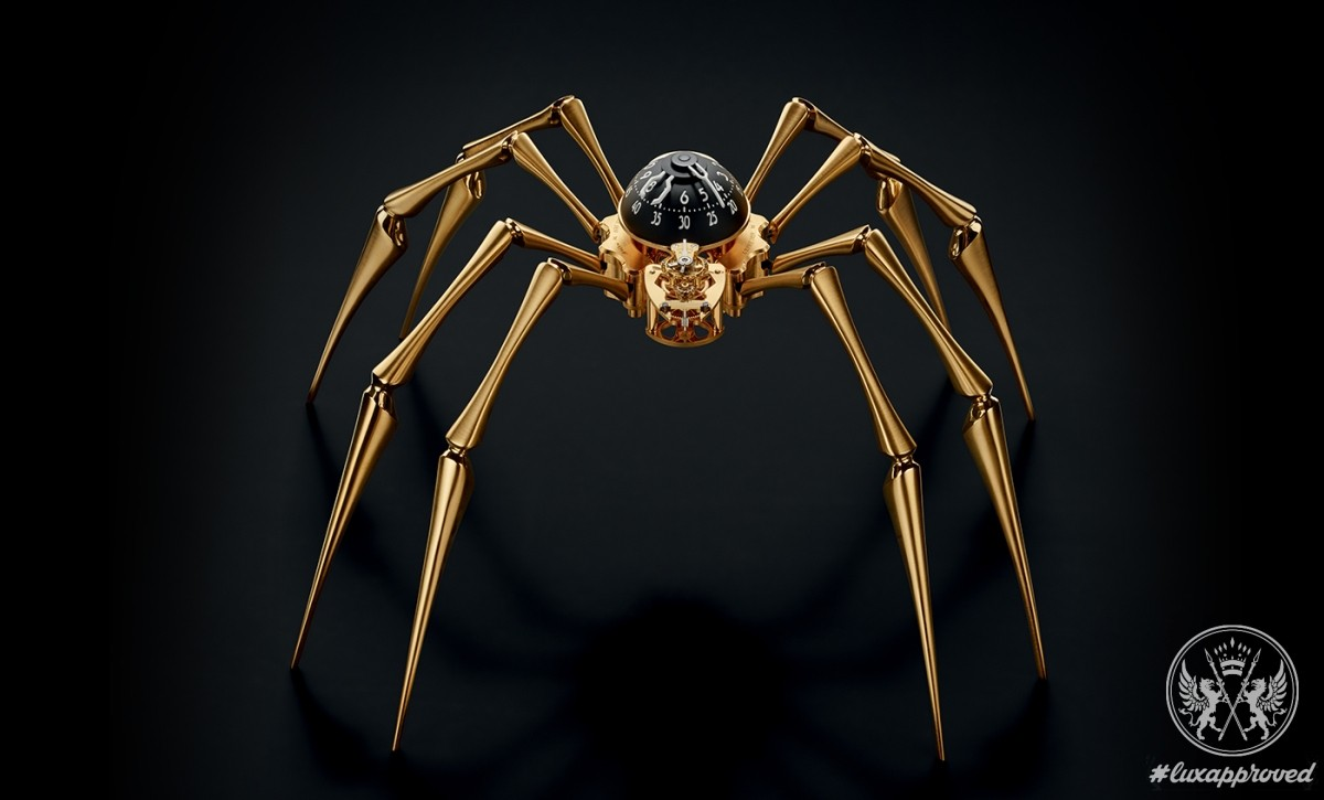 Discover Arachnophobia, the Newest Clock From MB&F