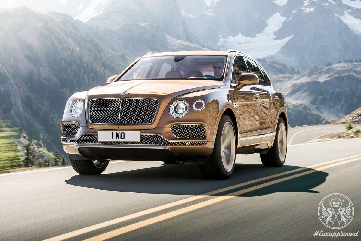The New Bentley Bentayga Suv Unveiled