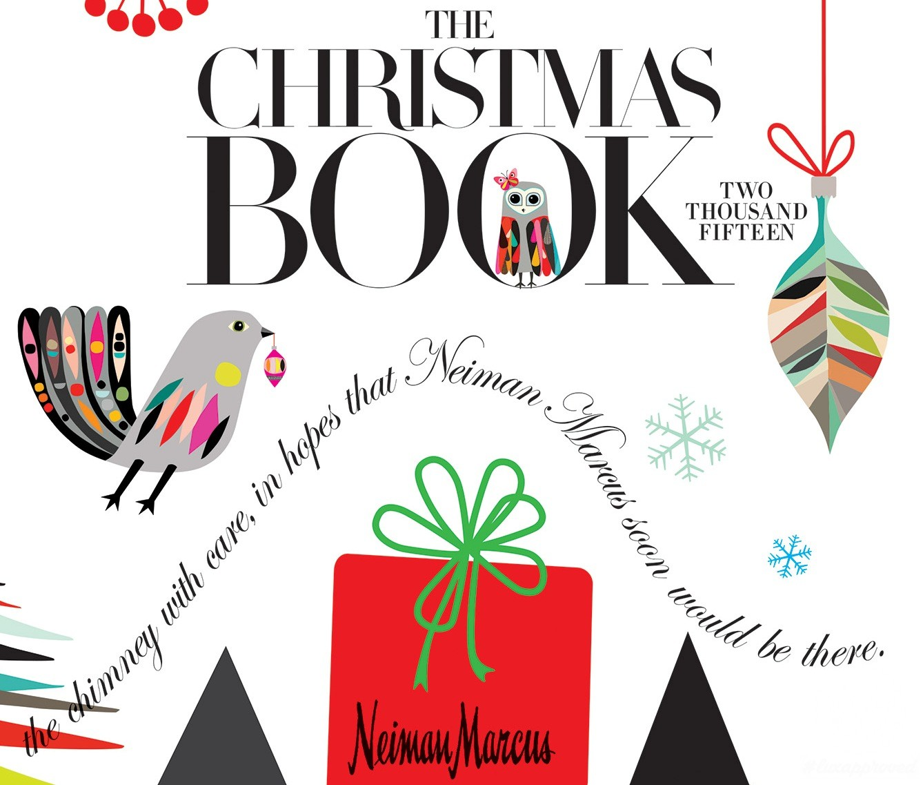 The 2015 neiman marcus christmas book for Neiman marcus christmas cards