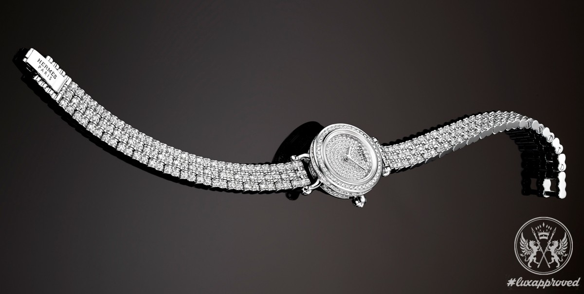 Hermès Faubourg Joaillerie Timepiece Is Beautified With 652 Diamonds