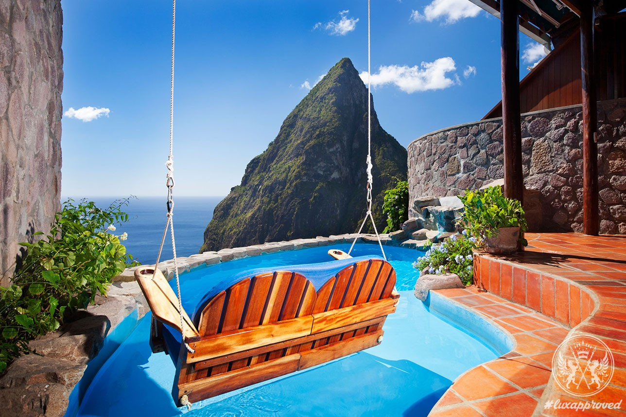 Ladera st lucia resort heaven on earth lux expos for Motel luxury