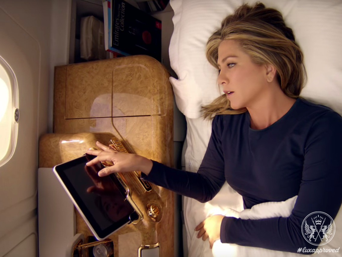Wake Up To Flying As It Should Be: Jennifer Aniston Fronts Emirates Campaign