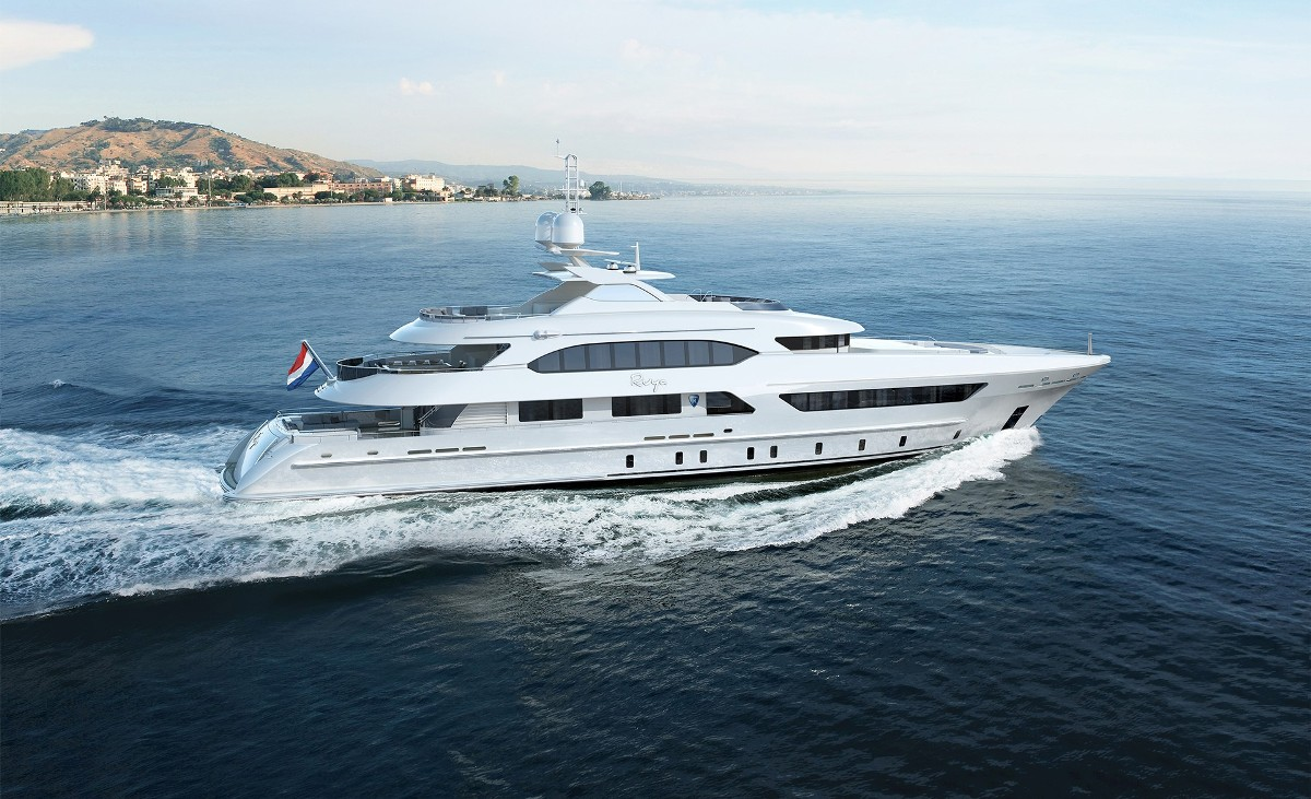 Project Ruya by Heesen Yachts