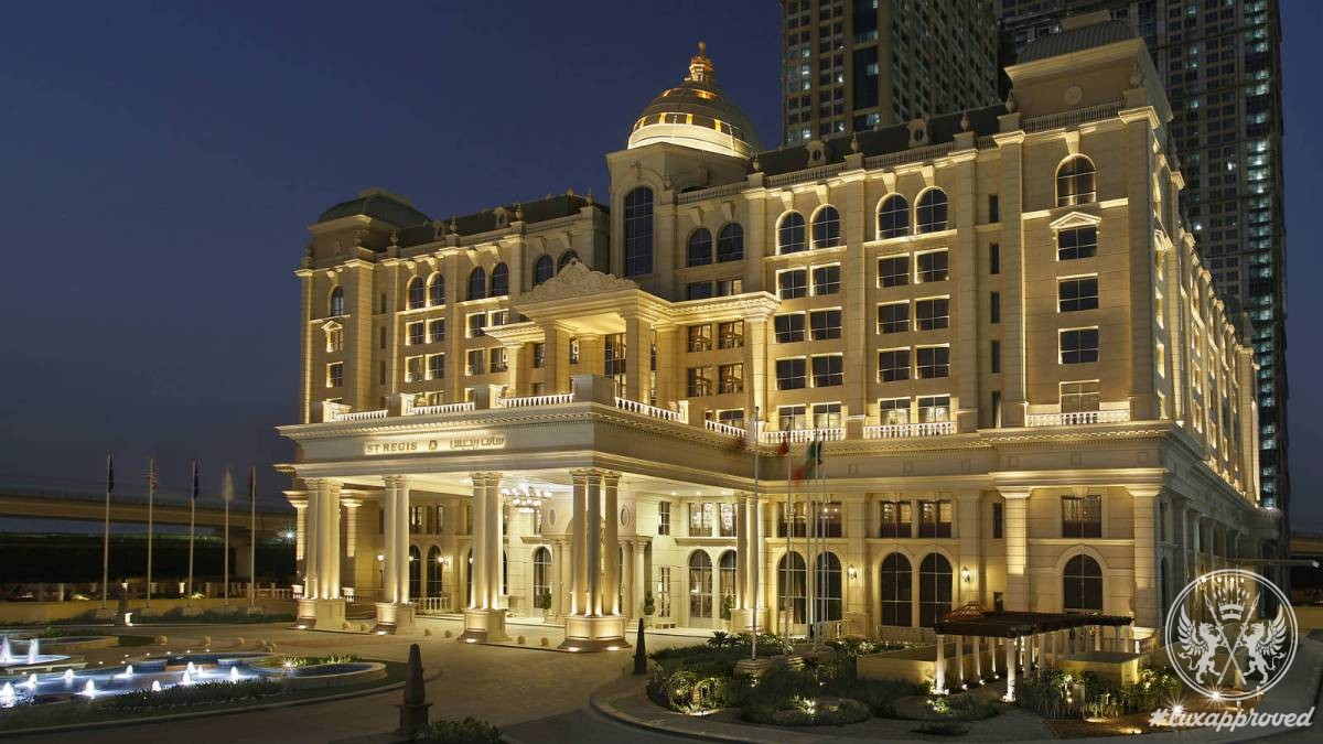 The st regis dubai lux expos for The top hotels in dubai