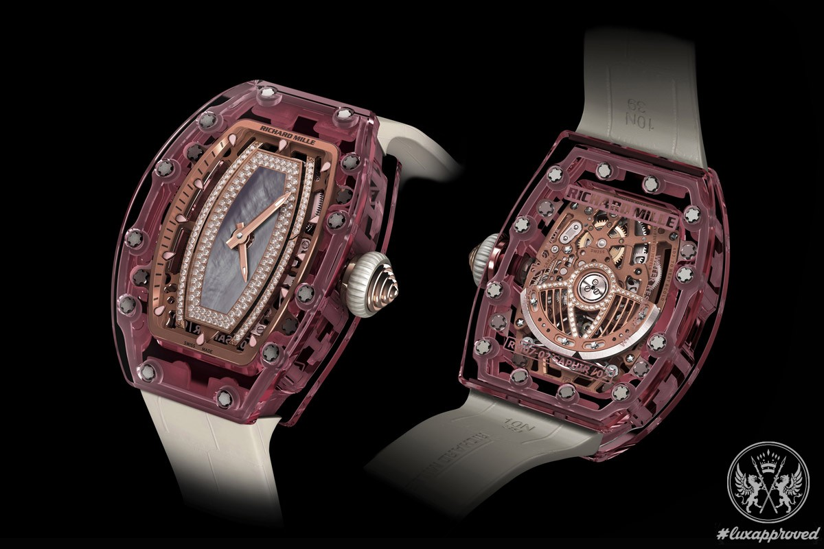 Richard Mille RM 07-02 Pink Lady Sapphire Timepiece