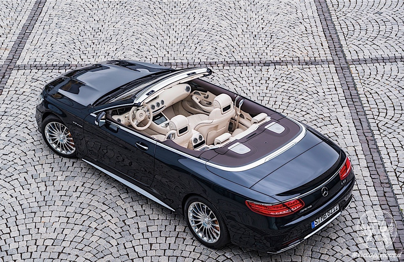 Mercedes-AMG S65 Cabriolet Unveiled