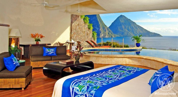 Jade Mountain Resort at St. Lucia Is a Perfect Valentine's Day Retreat