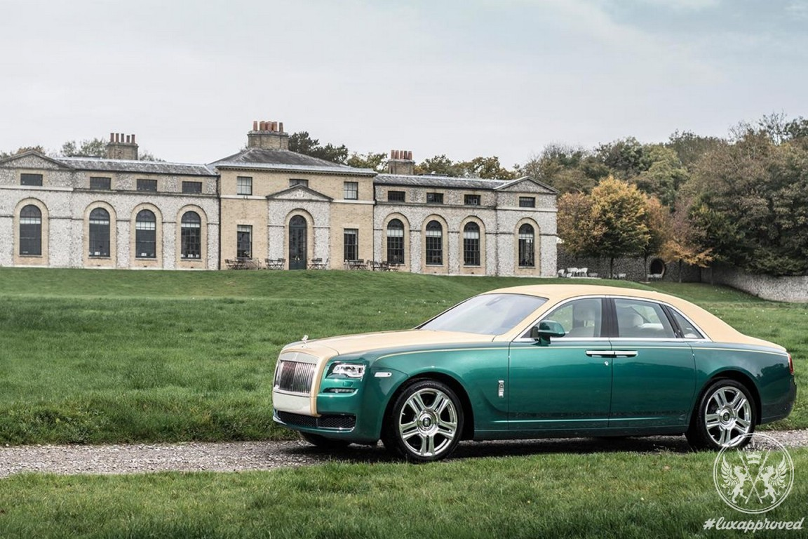 Rolls-Royce Ghost Golf Edition