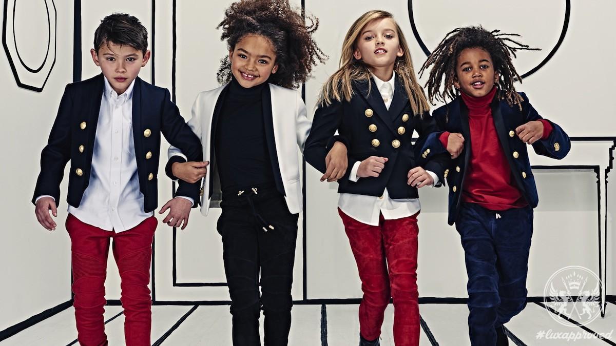 Balmain Kids For Mini-Fashionistas
