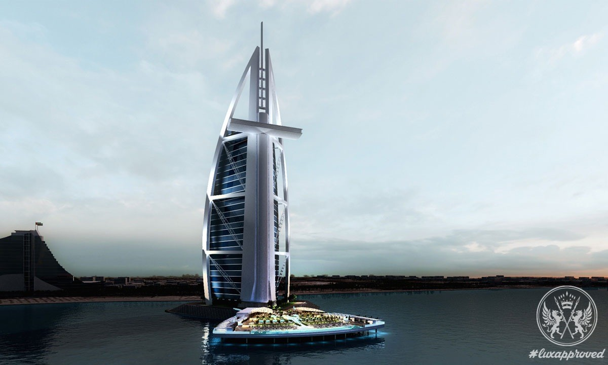 Burj Al Arab Redefines Its Look With North Deck