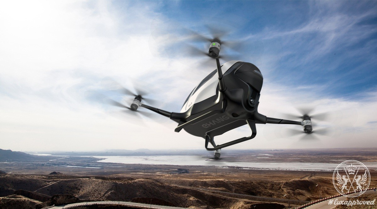 Meet Ehang 184, the First Passenger Drone in the World