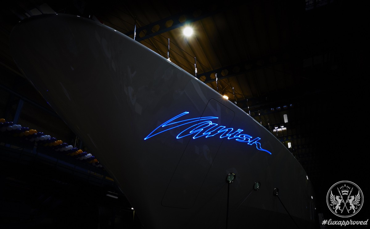 Feadship Vanish Superyacht Unveiled