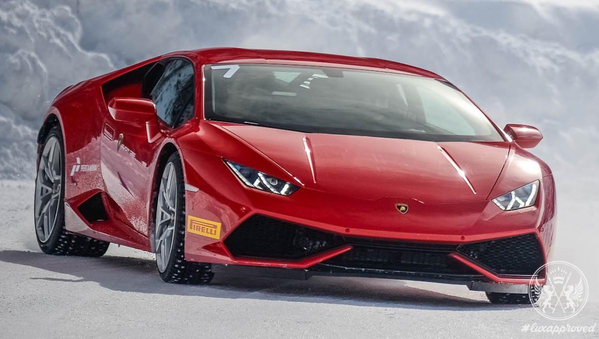 Lamborghini Winter Accademia 2016