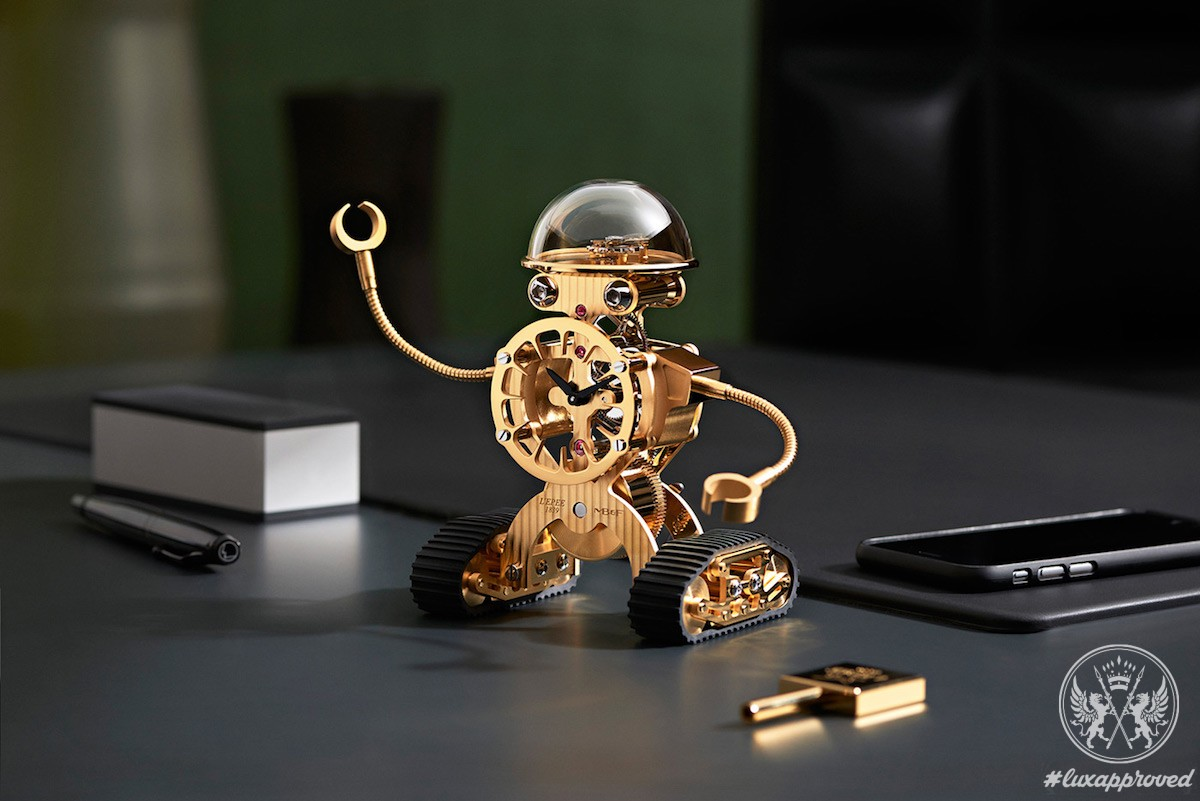 Meet Sherman, MB&F/L'Epée 1839 Robot-Inspired Clock