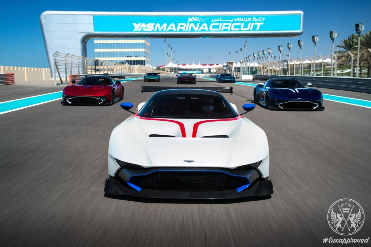 Aston Martin Vulcan is Tamed at Abu Dhabi F1 Track
