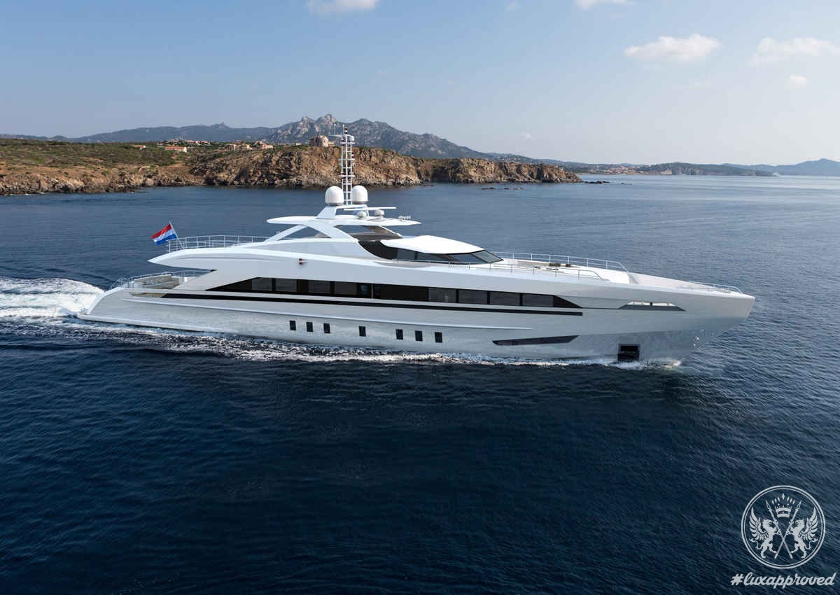 Amore Mio by Heesen is the Largest and Most Powerful Sports Yacht Built in the Netherlands