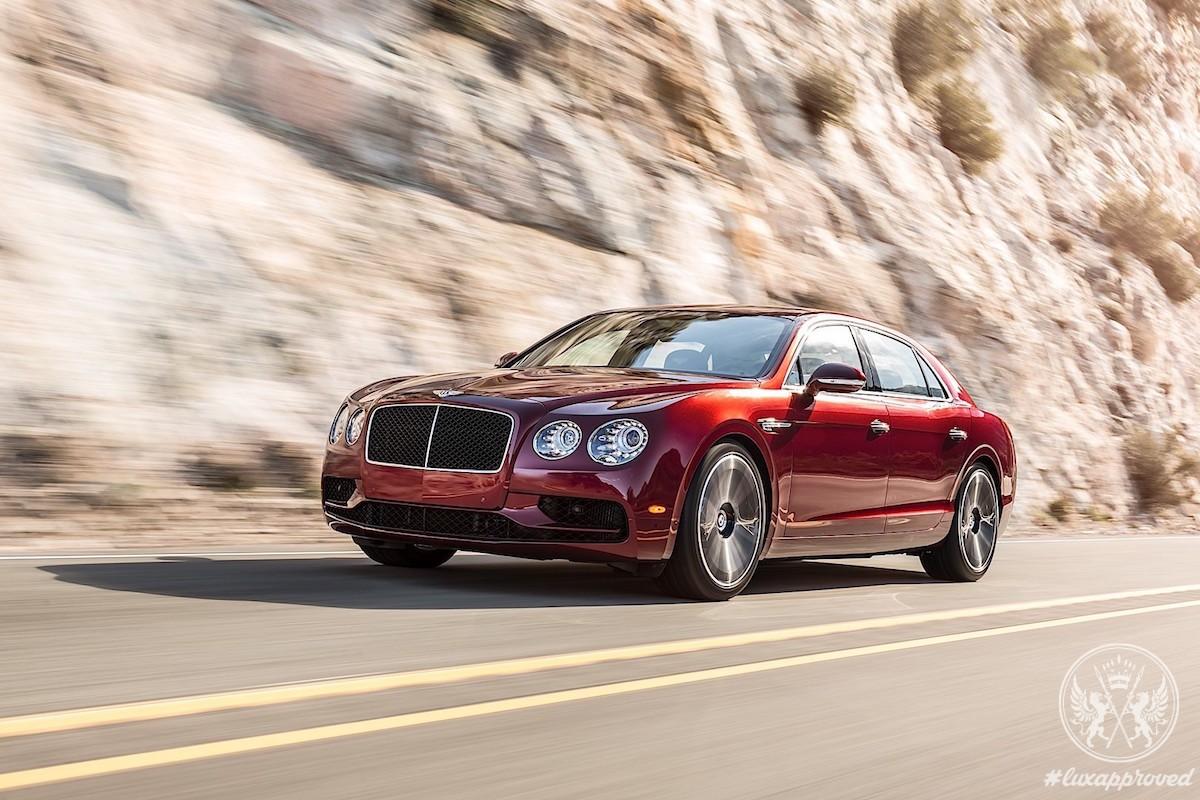 Bentley Flying Spur V8 S Bound For Geneva