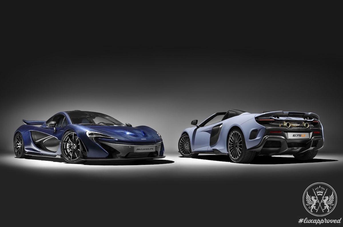 Bespoke McLaren 675LT Spider & P1 Speed Up to Geneva Auto Show