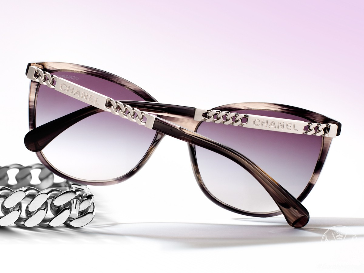 Chanel Plein Soleil Eyewear Collection Capitalizes on the Dualities of Light and Shade