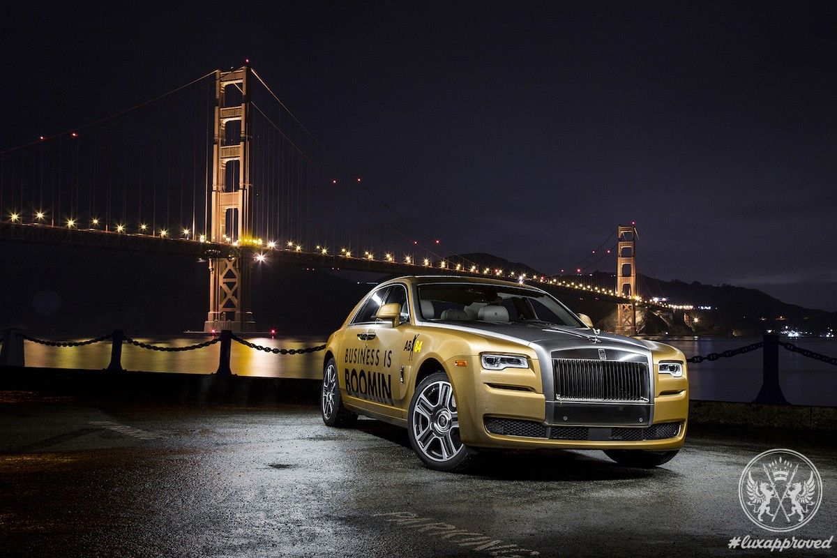 "Rolls-Royce Ghost II ""Super Bowl 50"""