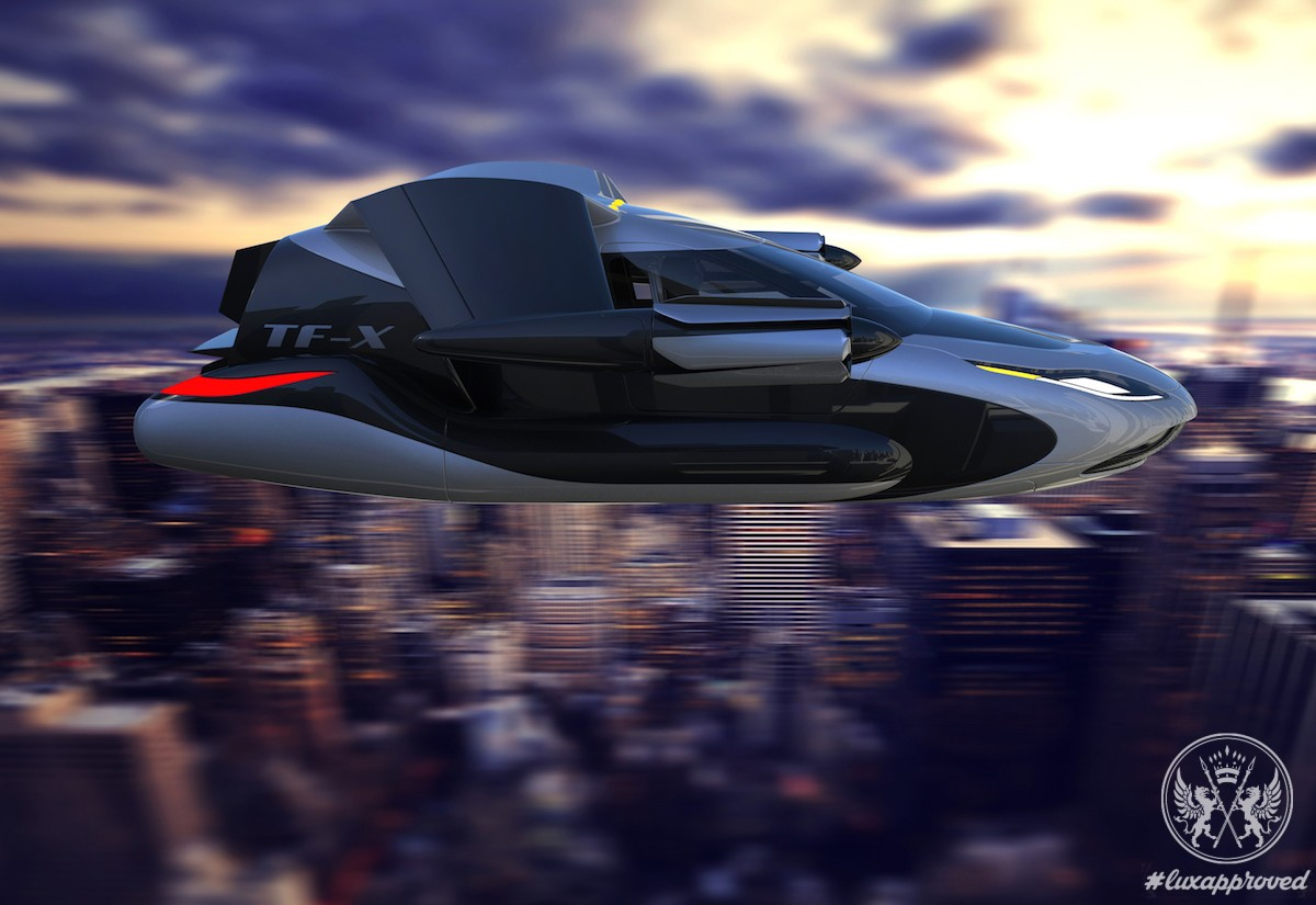 Terrafugia TF-X Flying Car Will take Wing In 2018