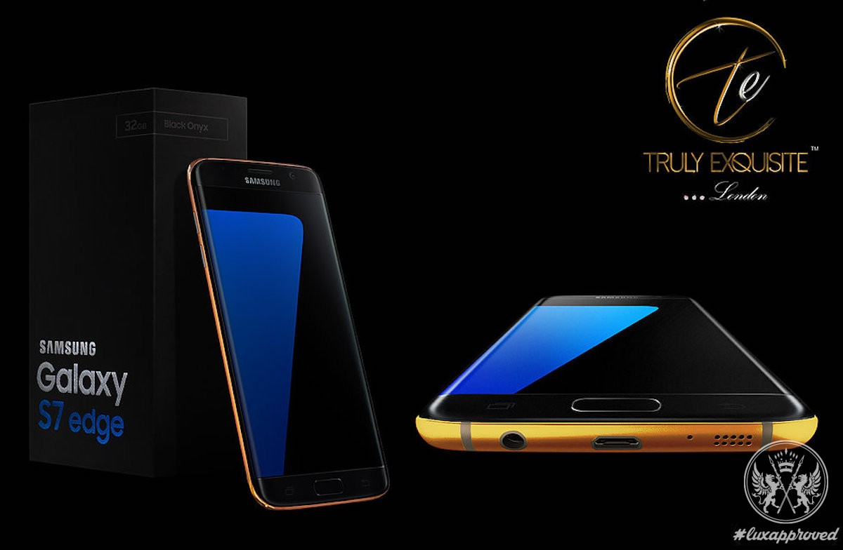 Truly Exquisite 24K Gold Samsung Galaxy S7 and S7 Edge Are Available For Preorder