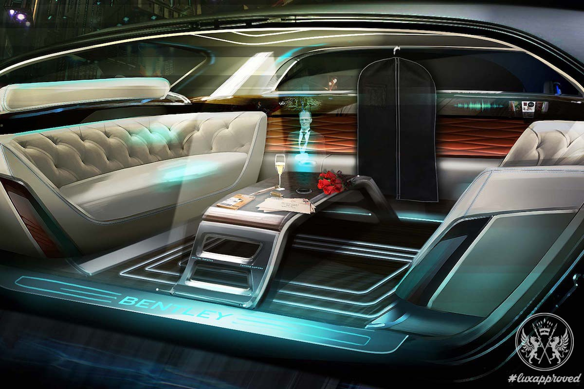 "Bentley ""Future of Luxury"", the 2036 Interior Design Concept"