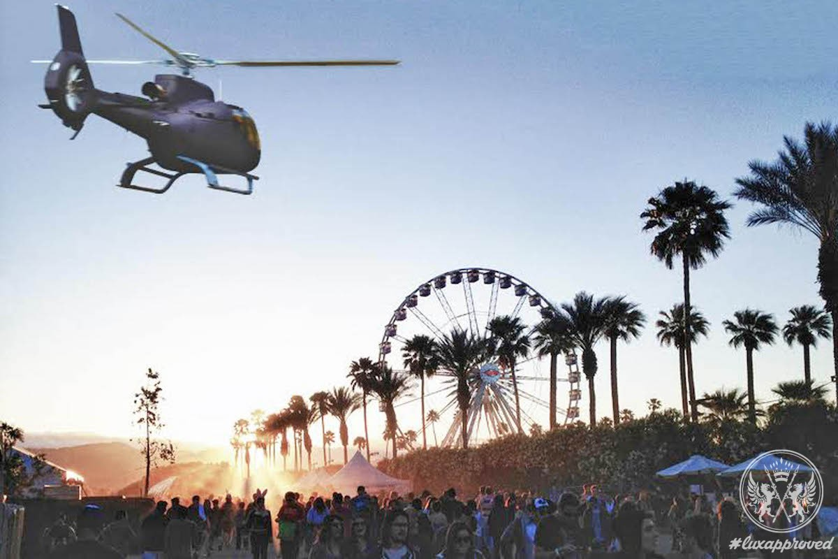 Blade & Uber Offer Helicopter Rides to Coachella
