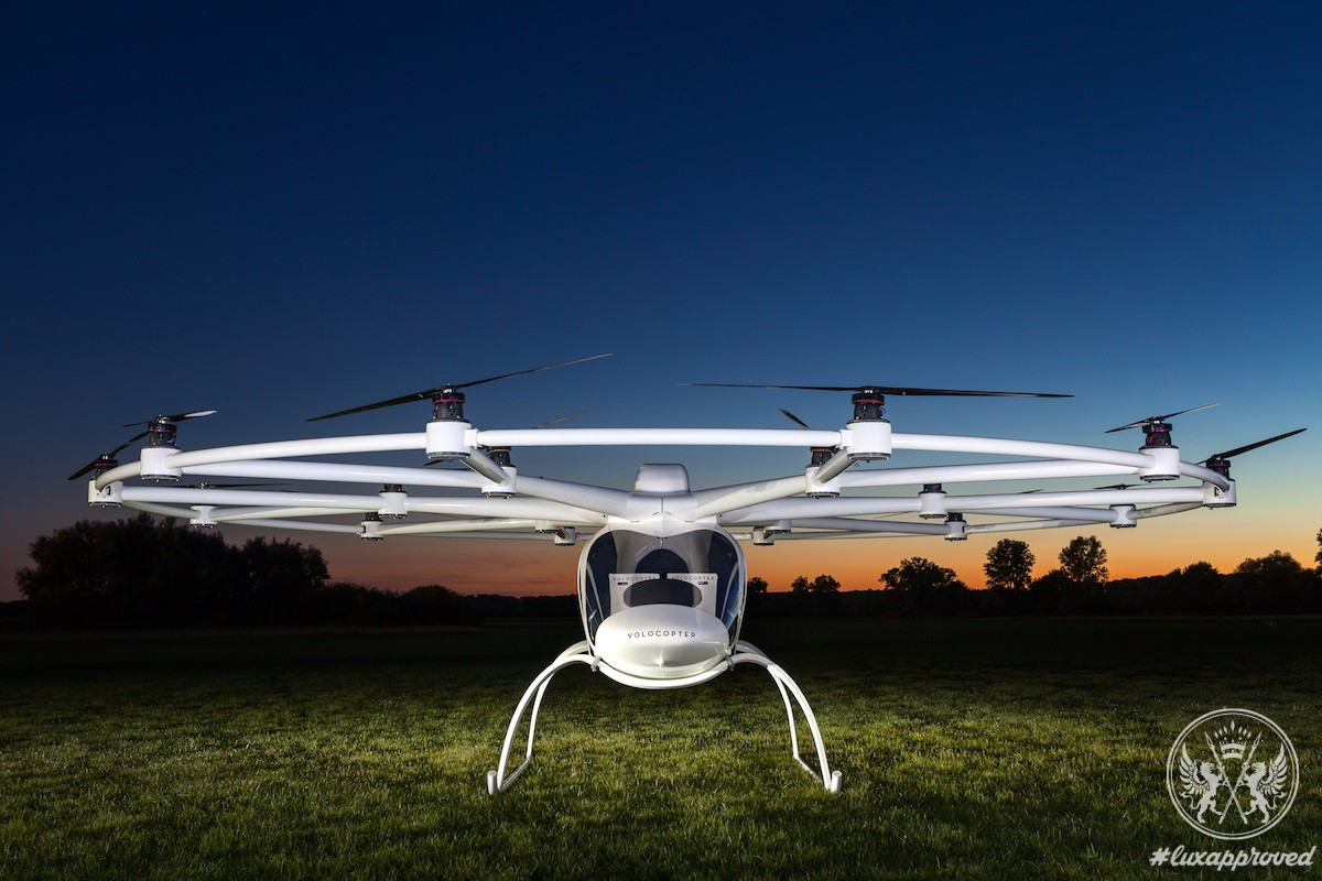 Meet E-Volo VC200, an Eco-Friendly 18-rotor Electric Volocopter