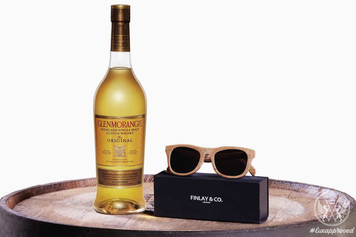 Glenmorangie Originals Sunglasses Are Handcrafted From Scotch Whisky casks