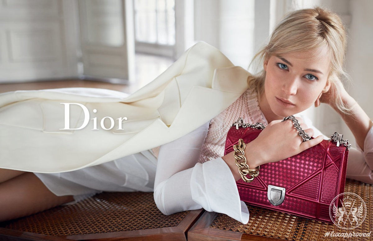 Jennifer Lawrence Radiates Natural Beauty In the Latest Dior Campaign