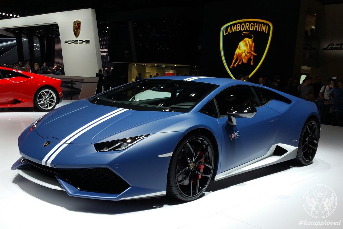 Lamborghini Huracán LP 610-4 Avio Is Inspired by Fighter Jet