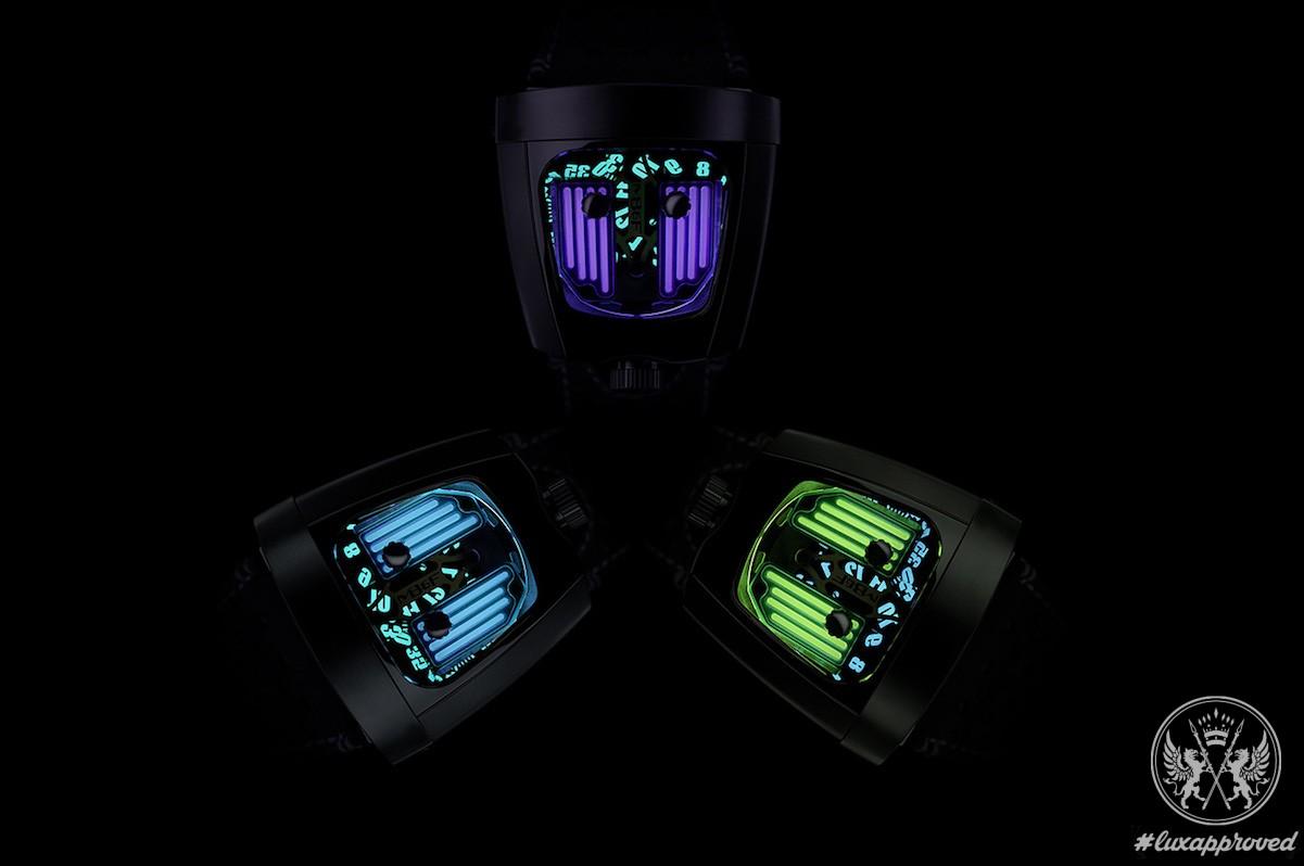 MB&F HMX Black Badger & Starfleet Machine Black Badger