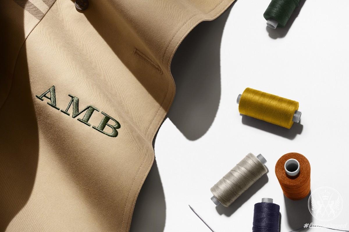 Monogram Your Burberry Trench Coat