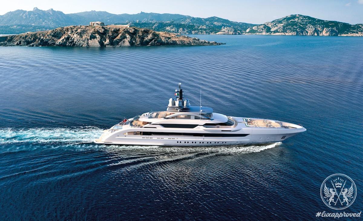 Galactica Super Nova is The Largest Yacht In Heesen's Fleet To Date