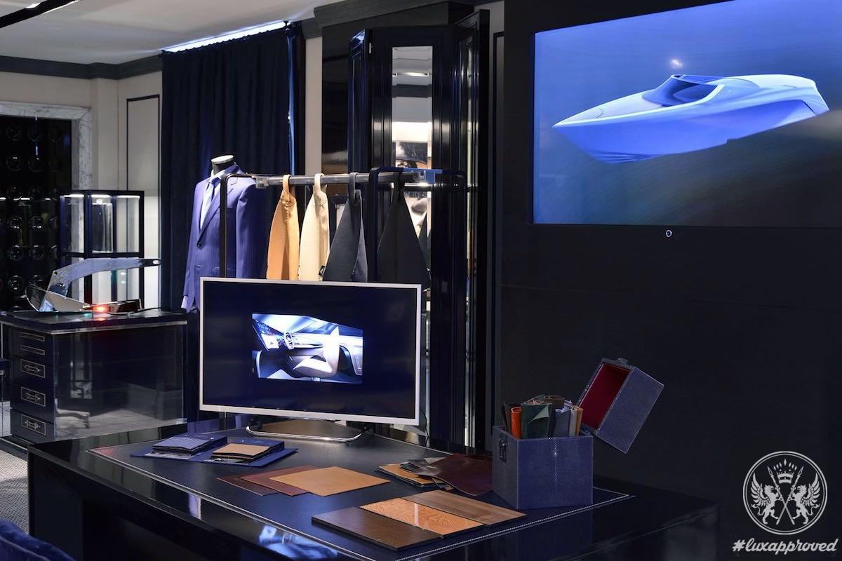 Aston Martin Showcases AM37 Powerboat Design In Milan