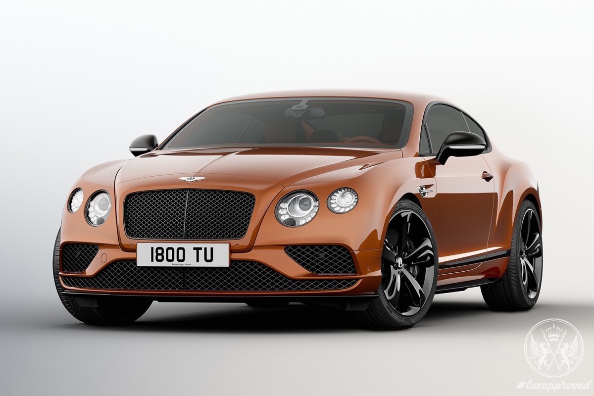 Bentley Launches Continental GT Speed Black Edition