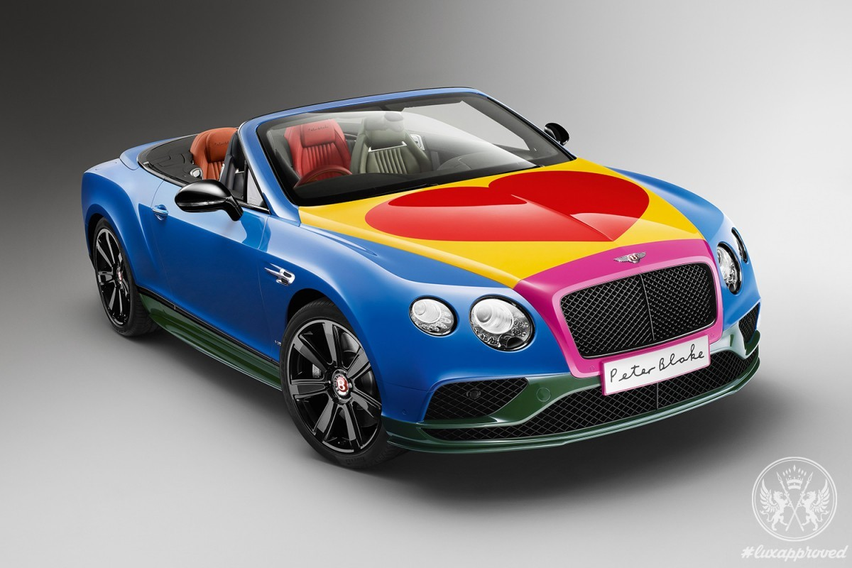 Pop Art Bentley By Sir Peter Blake